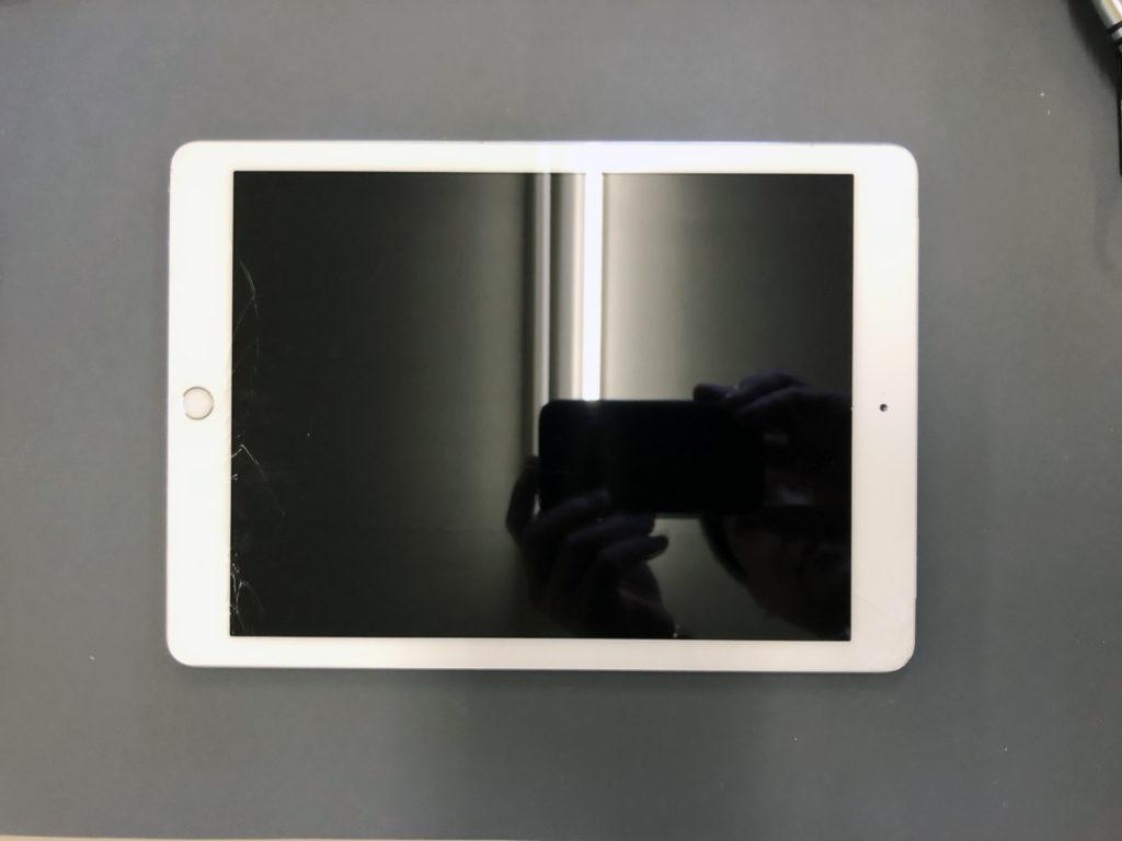 iPad 2018画面割れ修理