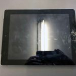iPad4 タッチパネル割れ