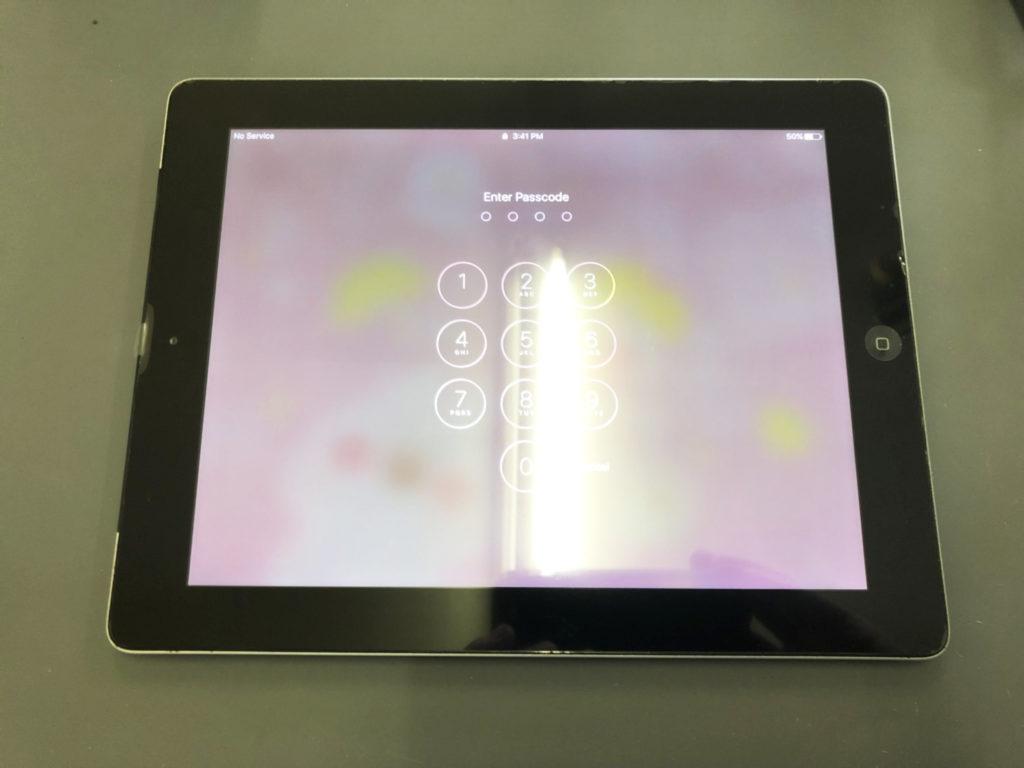 iPad4タッチパネル修理