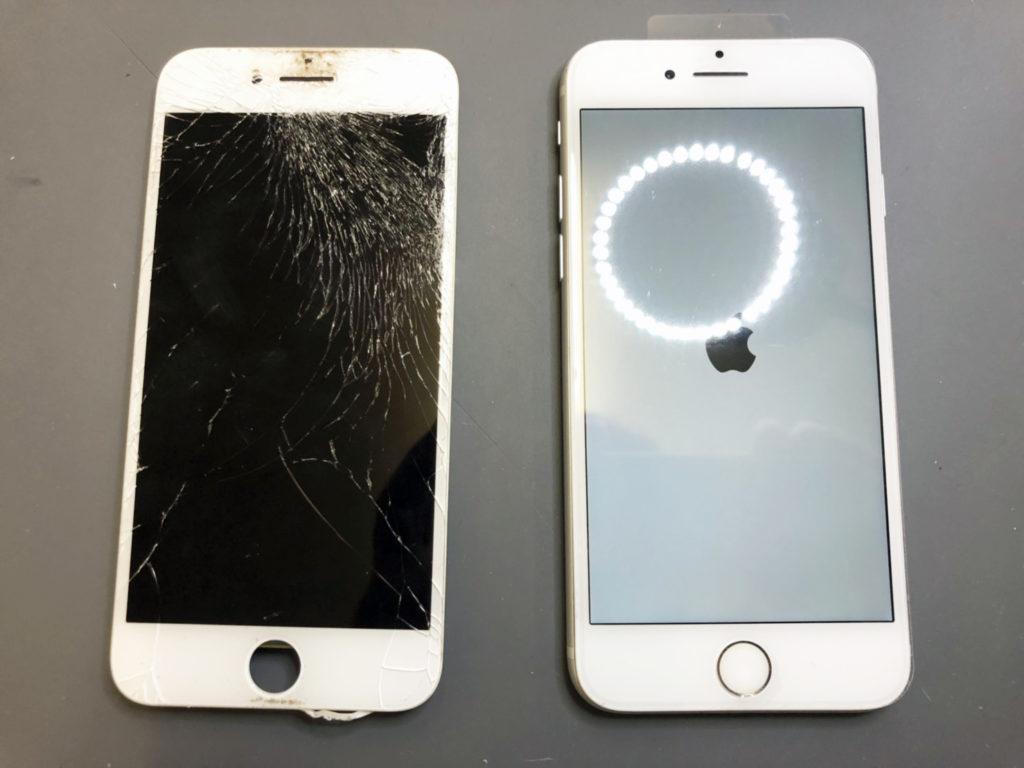 iPhone7液晶ガラス交換修理