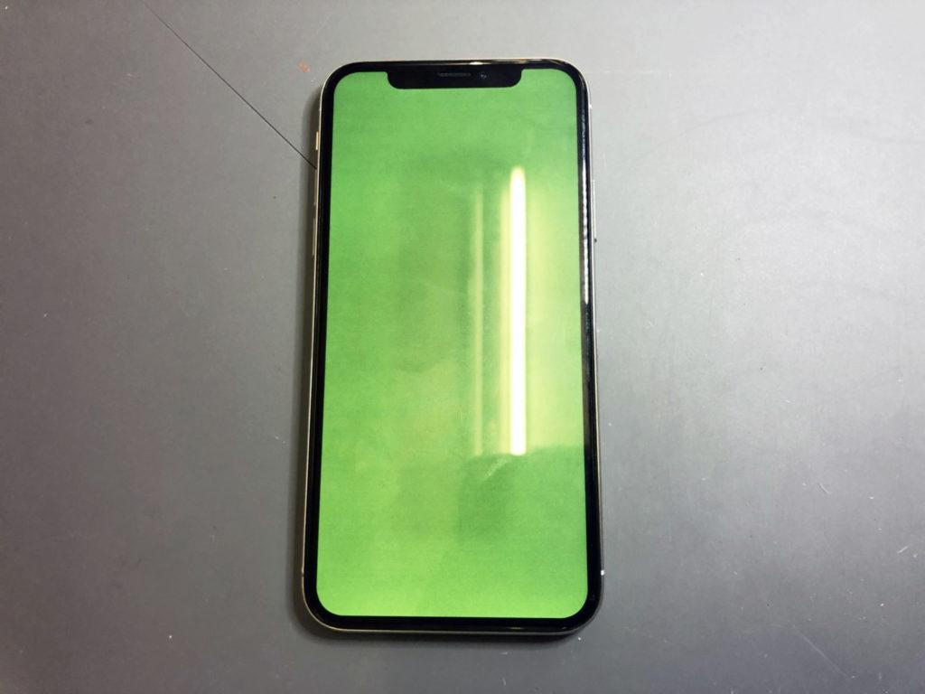iPhone X グリーンスクリーン