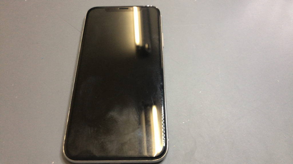 iPhone X ゴーストタッチ