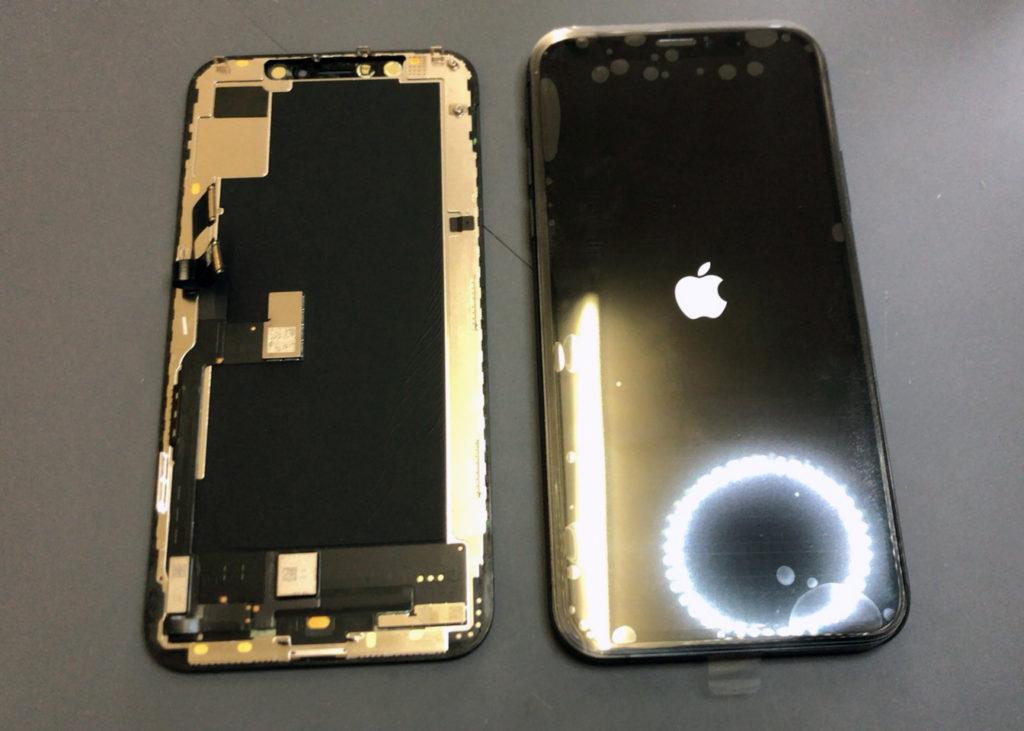 iPhone XS 画面交換