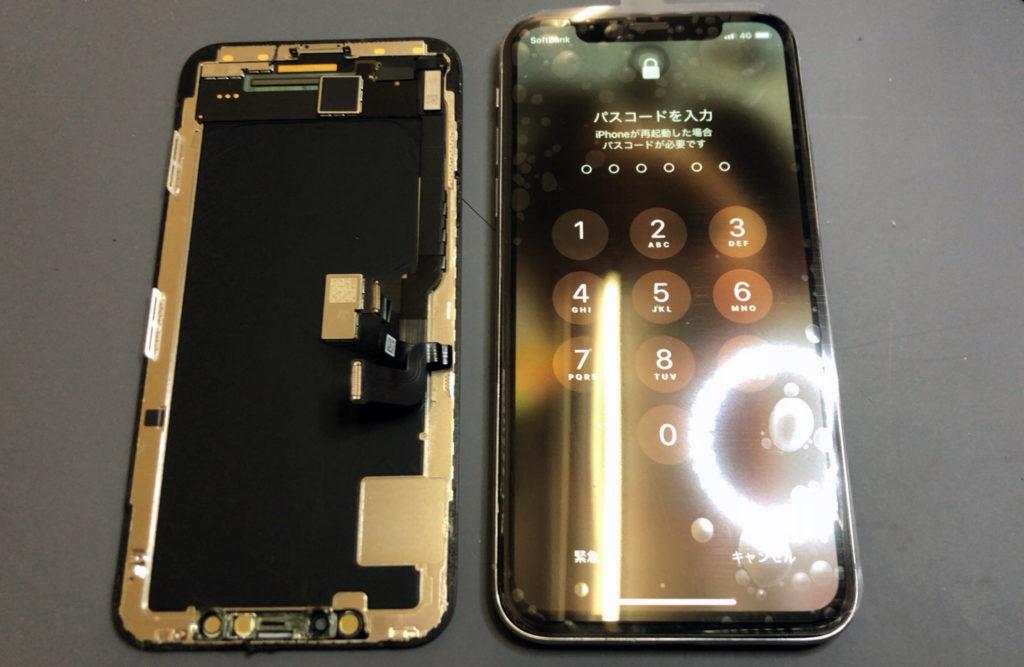 iPhone X タッチ不能修理