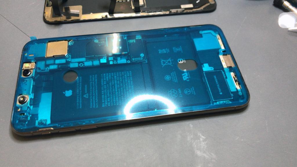 防水シール iPhone XS Max