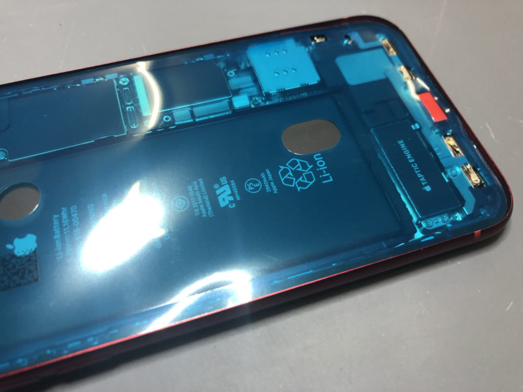 iPhone XR 防水シール