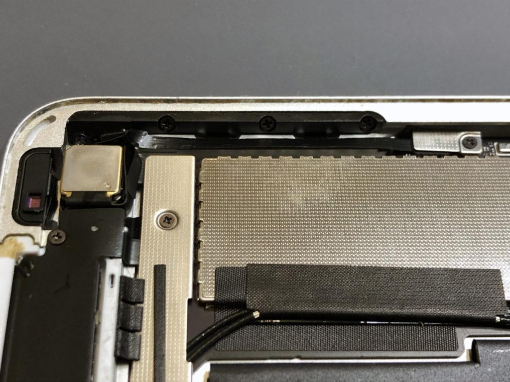 iPad Air2ボリュームボタン