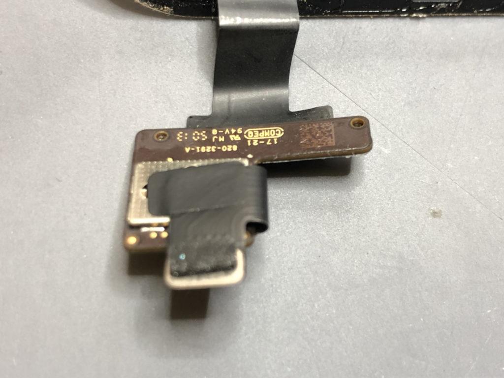 iPad mini タッチIC