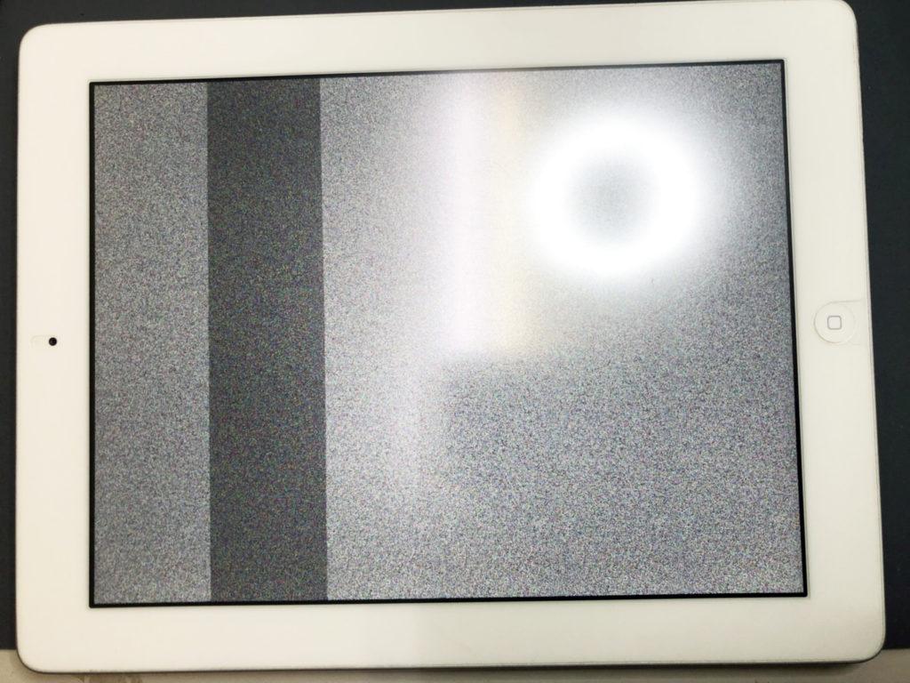 iPad 砂嵐