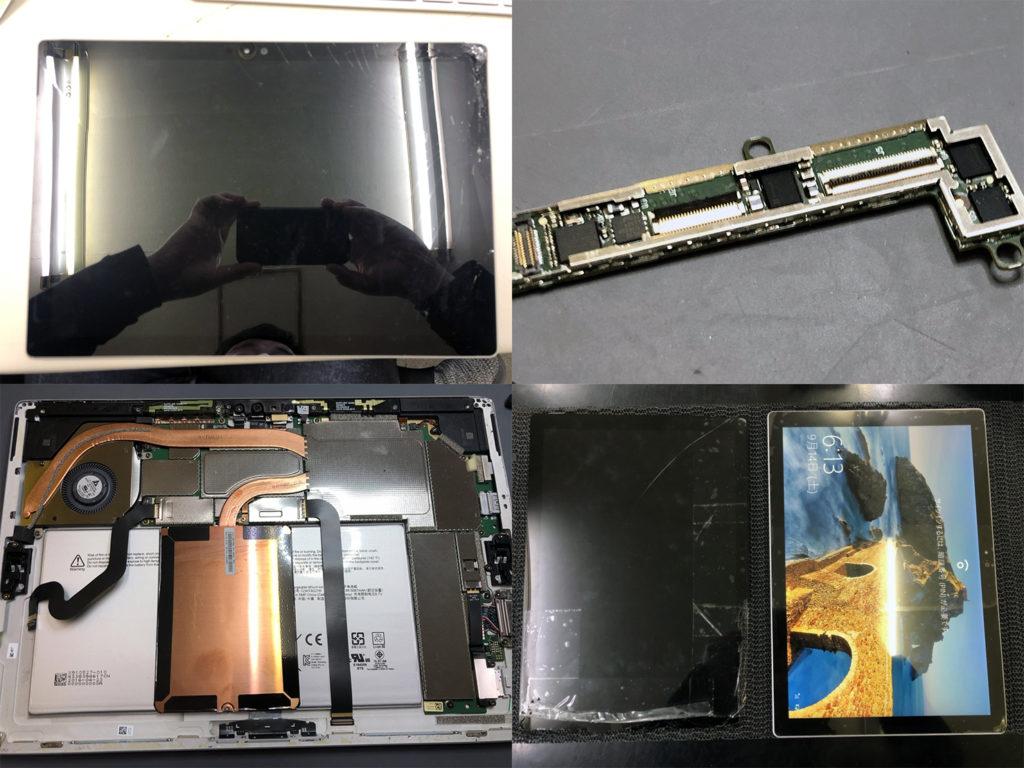 Surface Pro4液晶交換作業