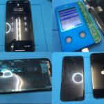 iPhoneX 画面割れ純正再生パネル修理
