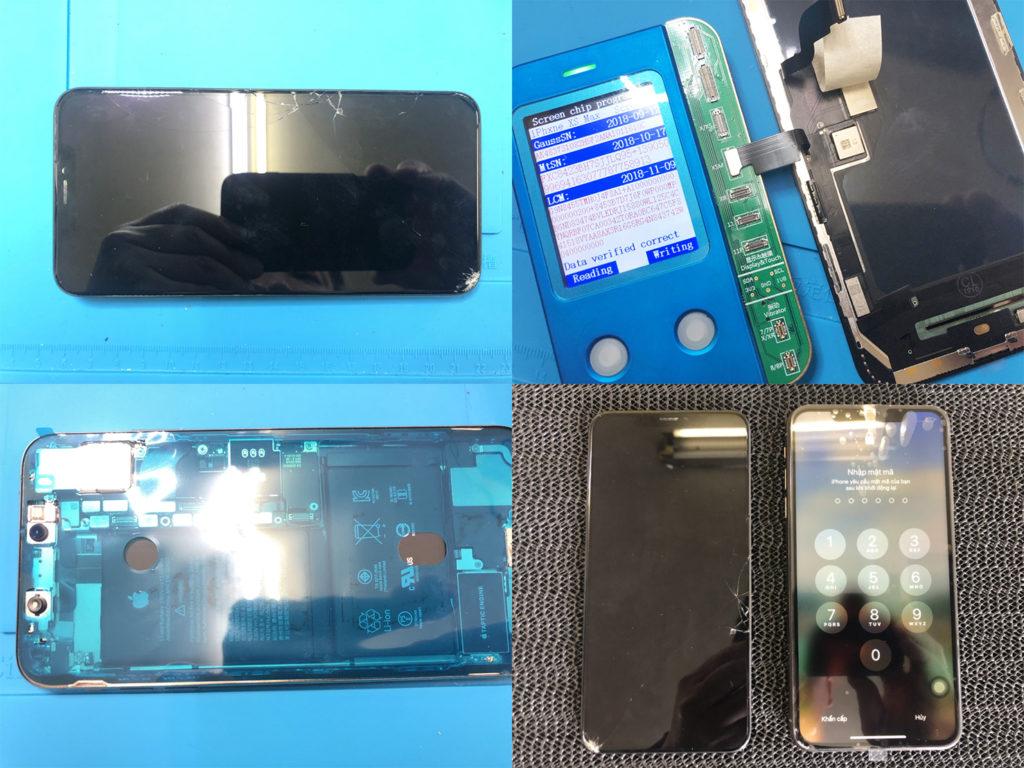 iPhone XS Max 画面修理