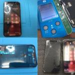 iPhone XS 画面割れ修理(牛久市より来店)