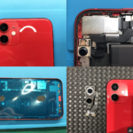 iPhone 11 カメラユニット交換(つくば市内より来店)