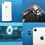 iPhone XR カメラユニット交換(つくば市内より来店)