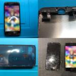 iPhone7画面割れ純正再生品(つくば市内より来店)