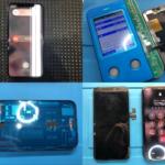 iPhone 11 Pro 表示不良画面修理(つくば市内より来店)