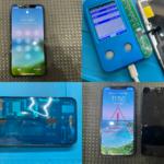 iPhone 11 Pro 画面割れ修理(つくば市内より来店)