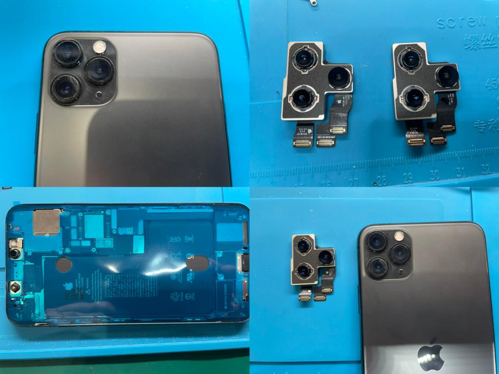 iPhone 11 Pro Max リアカメラ交換