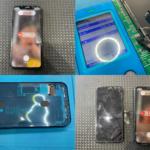 iPhone XR 画面割れ修理(つくば市内より来店)