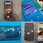 iPhone 11 Pro Max 画面割れ・タッチ不良(かすみがうら市より来店)