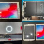 iPad 第6世代 画面割れ修理(つくば市内より来店)