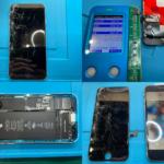 iPhone SE 2 画面割れ修理(つくば市内より来店)